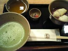 31歳からのスイーツ道#-ぜんざい(小)と抹茶@赤福茶屋 JR名古屋ナタシマヤ