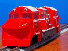 DE15形ラッセル式除雪機関車複線用チョロQ2