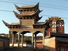 1110合作のチベット寺院