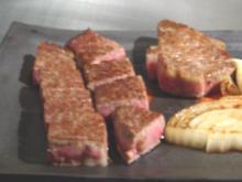 佐賀牛の鉄板焼