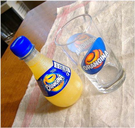 オレンジーナ&グラス