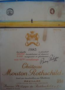 Ch Mouton Rothschild 1983