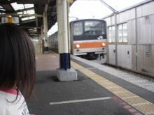 電車でお出かけ