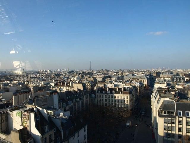デートに使える!女社長の東京グルメスポット日記★-ポンピドゥー Centre Pompidou