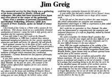James Greig氏