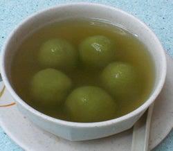 緑茶だんご