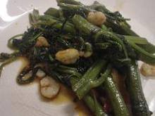 空心菜の炒め物4