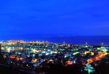 蒲原 夜景