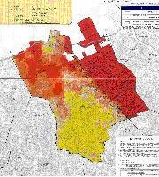 警固断層震源の地震想定 福岡市が「揺れやすさマップ」
