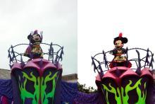ハロウィーンパレードも間近で観れたし!(^^)!