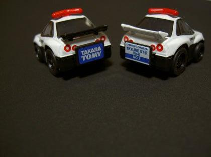 GT-R patrolcar rear