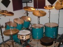 先生ドラムセット