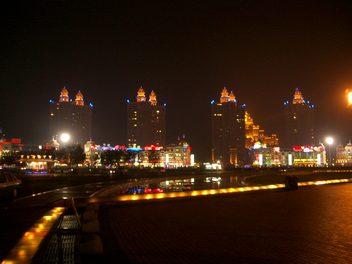 星海広場からの眺め