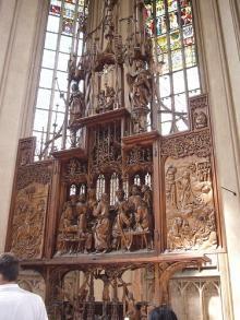 リーメンシュナイダーの「聖血の祭壇」