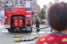 消防署訓練を