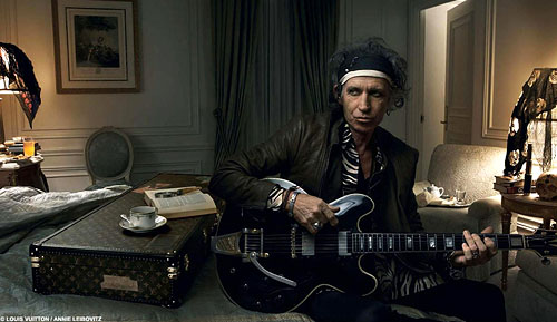 Keith Richards@LouisVuitton.