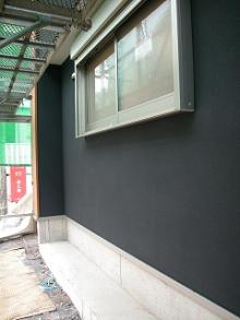三軒茶屋の家外壁-2