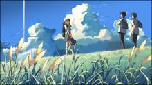 「雲の向こう、約束の場所」