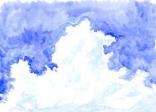 入道雲-猪苗代湖