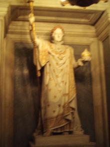 ナポレオン1世の立像