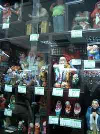 泥人形の数々