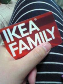 【雑記帳】-IKEAカード