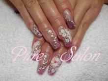 Pure SalonのBeautyブログ-My nail