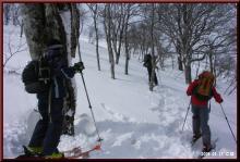 ロフトで綴る山と山スキー-滑降前