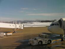 カルマンギアのある生活-青森空港