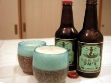 葉山ビールと琉球ガラス