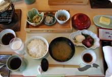 「大仙家」朝食