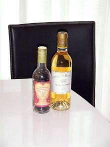 カルマンギアのある生活-チョコ&ワイン