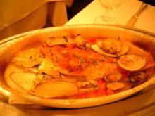 サントスピリト 魚アクアパッツア