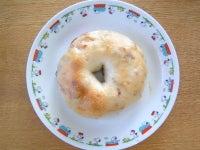 チーズ&レーズンベーグル(ブラウニー)