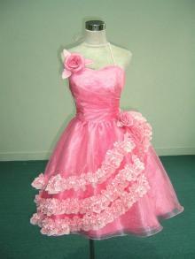 ミニのドレス