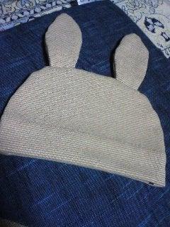うさぎの帽子