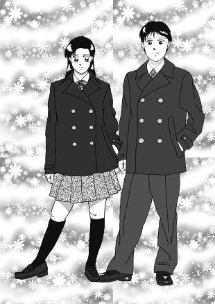 雅和&綾乃 高校制服(冬)