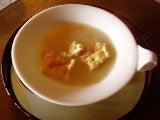 スープorサラダのスープ