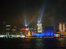 ヴィクトリア湾の夜景