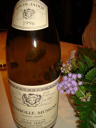Louis Jadot  Chambolle Mousigny 1996