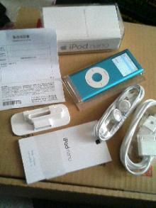 iPod nanoの箱の中身