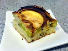 サツマイモとりんごのケーキ2