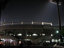 x上田球場外観・なかなかいい球場だった