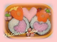 バレンタイン弁当