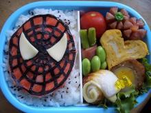 スパイダーマン弁当