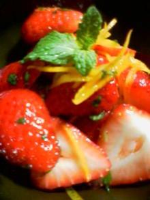 苺のマリネ