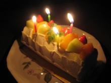 パパのバースデイケーキ。