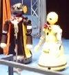 メッセのステージゾーン漫才ロボットたち1