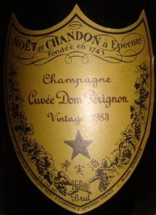 Cuvee Dom Perignon 1983