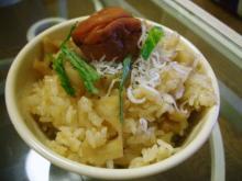 レンコン炊込みご飯